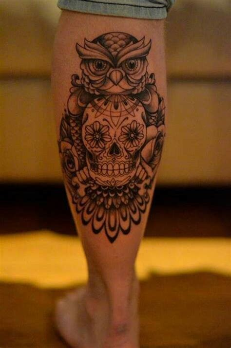 tattoo owl mexican 154 best images about sugar skull on pinterest diamond