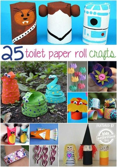 Things To Make From Toilet Paper Rolls - 17 best images about lavoretti per bambini on