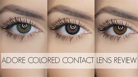 best color contacts for adore colored contacts for brown best review