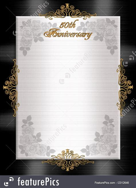 templates  anniversary formal invitation stock illustration   featurepics