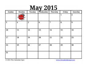 2015 May Calendar Printable 5 Best Images Of May 2015 Monthly Calendar Printable