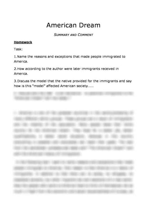 Essay On The American by Essay On Immigration