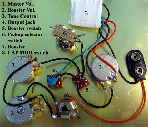 electric guitar circuitry dolgular