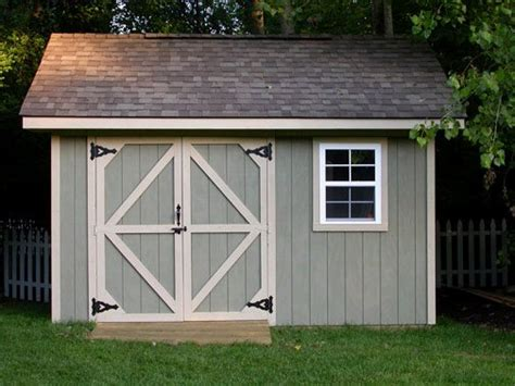 Storage Shed Plan by 10x12 Storage Shed Plans Learn How To Build A Shed On A