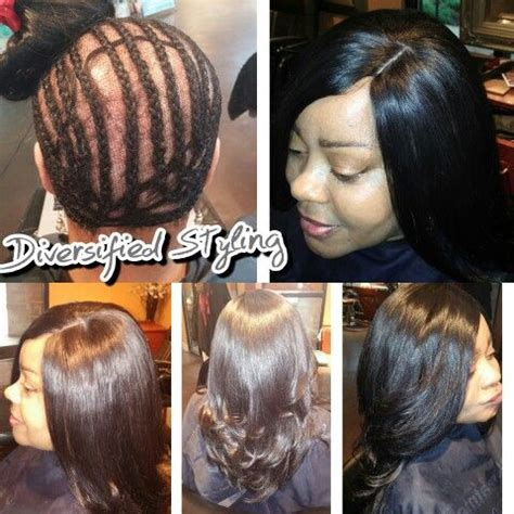 sew in hair extensions before and after before and after sew in extensions with closer hair