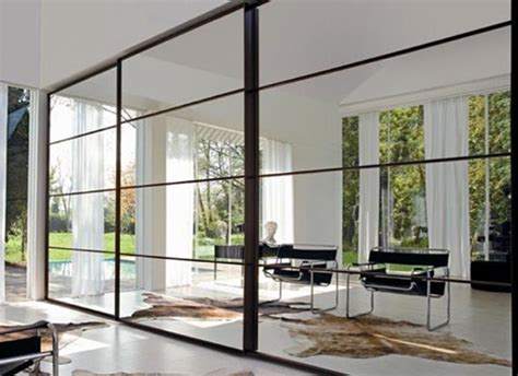modern sliding glass doors sliding into home four modern sliding doors