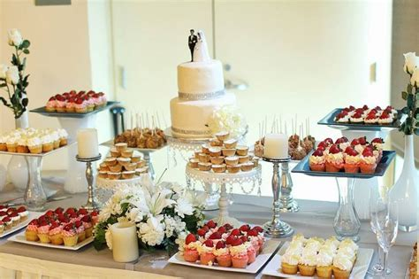 picture of stylish wedding dessert table decor ideas wedding dessert table ideas photo wedding dessert table
