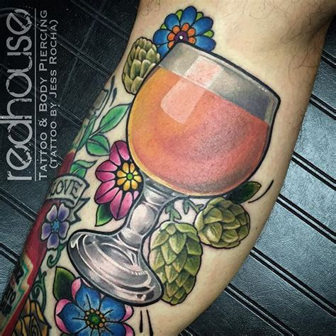 watercolor tattoos buffalo ny and hops by jess rocha at redhouse and