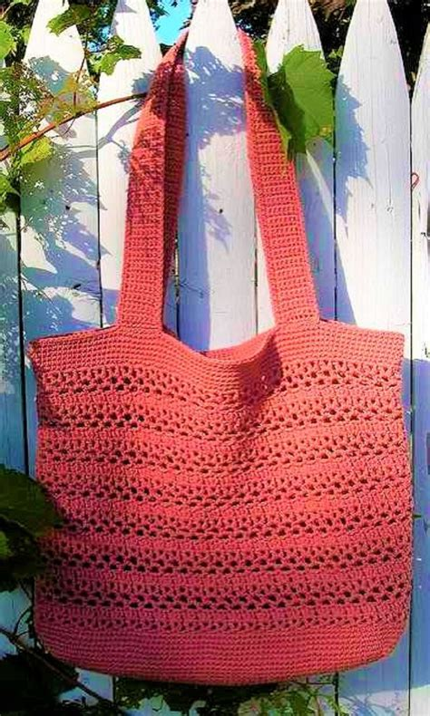 pattern tote bag crochet big and wonderfully easy free market tote crochet pattern
