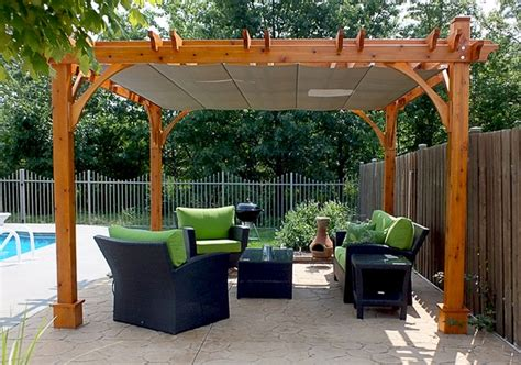 Pergola Canopy by Covered Pergola Retractable Canopy Waterproof Outdoor