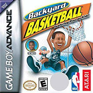 backyard basketball xbox 360 backyard basketball nintendo game boy advance gba