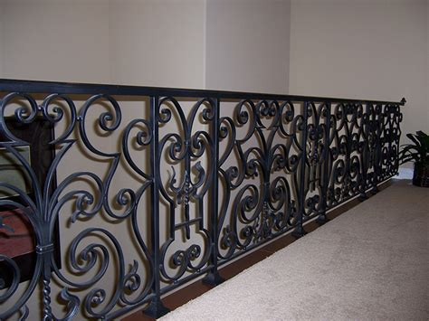 Decorative Iron Railing Panels by Metal Works Railings Hci Railing Systems
