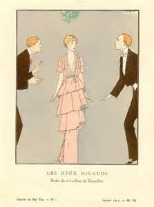 1920s art deco fashion luscious loves art deco illustration