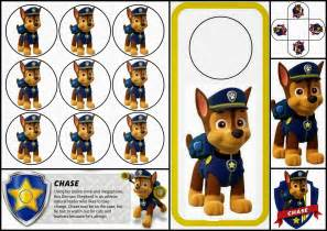 paw patrol chase free printable mini kit is it for