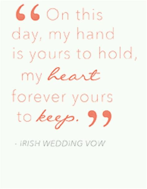 Wedding Ceremony Quotes by Quotes Wedding Vows Quotesgram
