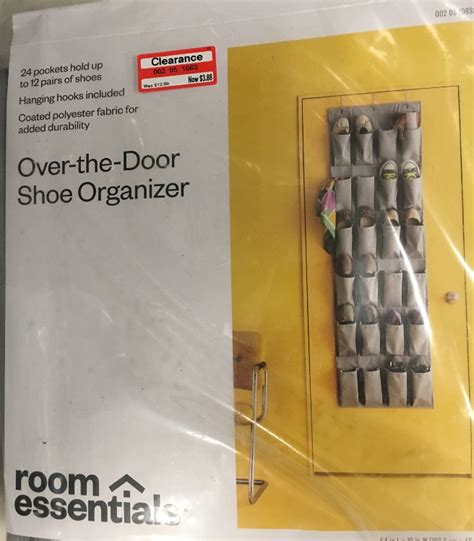 Target The Door Shoe Organizer by Readers Target Clearance Finds Shopping Trips All