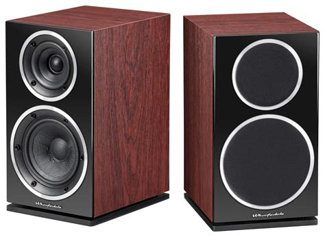 wharfedale series 2 way bookshelf speakers pair