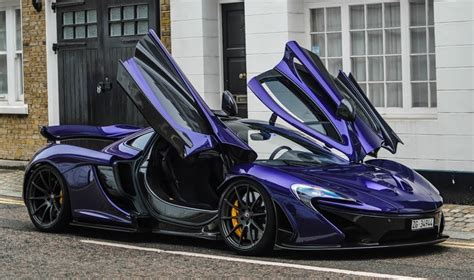 mclaren p1 purple a purple mclaren p1 raise hell in