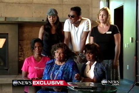 video katherine jackson explains her whereabouts and family drama jackson family feud katherine returns to grandkids says