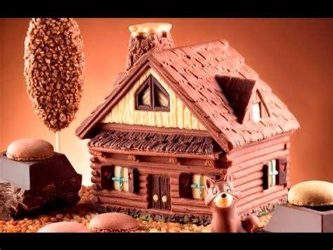 casa di cioccolato sto casetta di cioccolato step by step
