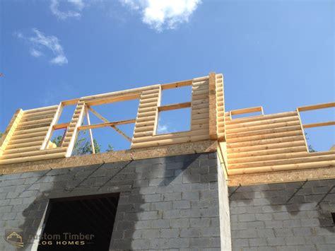 lockhart log stack custom timber log homes