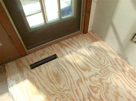 How to Install a Heated Hardwood Floor   how tos   DIY