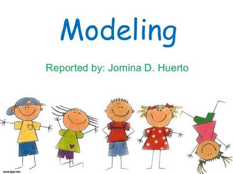 Behaviour Modification Techniques by Modeling Behavior Modification Technique
