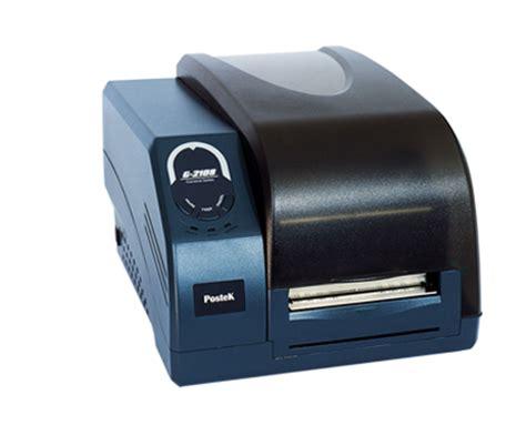Postek Tx2 203 Dpi Tanpa Ribbon Label postek g 2108 barcode printer