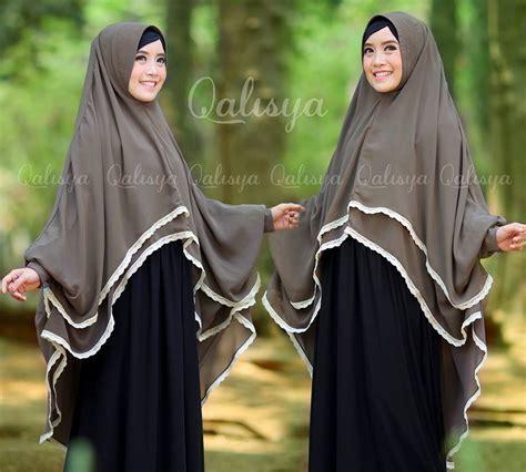 Dhea Dress Saja Tanpa Khimar khimar yumna by qalisya pusat grosir jilbab modern