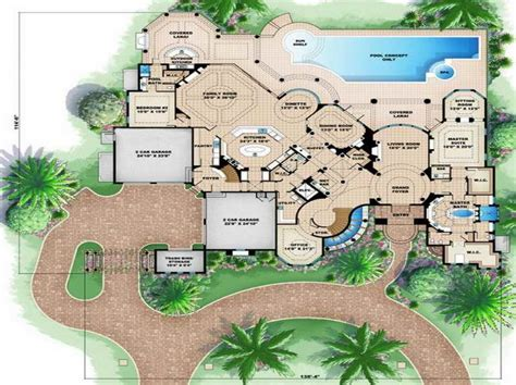 ideas house floor plans design with garden