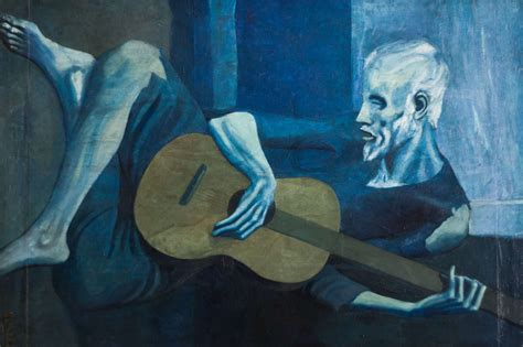 picasso paintings blue period guitar today is the day i retire my picasso guitarist