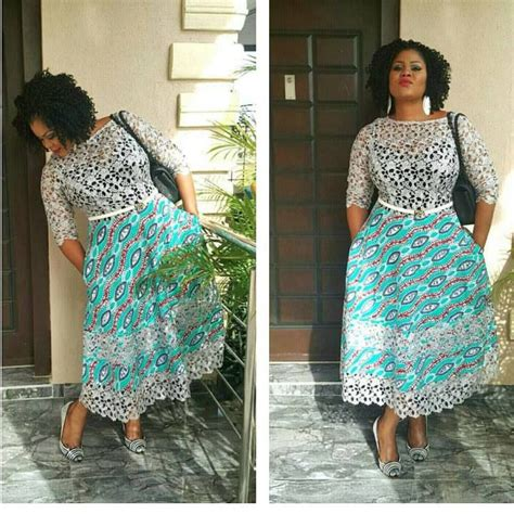 ankara and lace styles ankara and lace gown combinations styles beautiful
