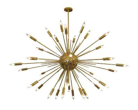 Sputnik Style Chandelier Large Brass Sputnik Style Chandelier Salibello