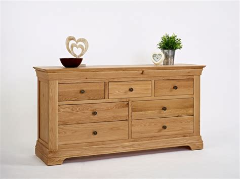 3 4 Chest Of Drawers by Bordeaux Oak 3 4 Chest Of Drawers Oak Furniture Solutions