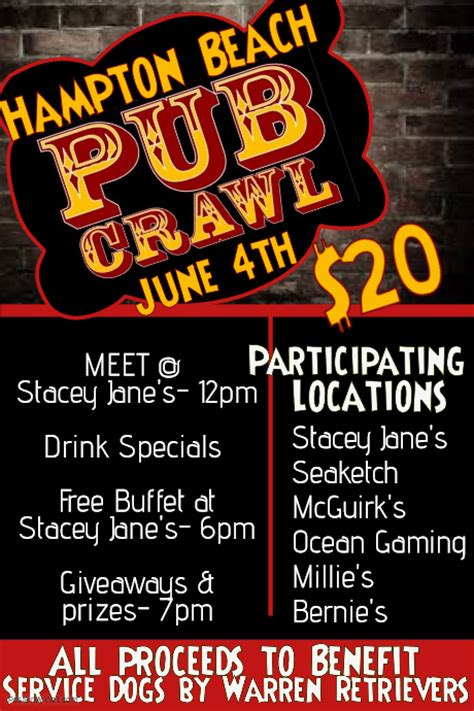 bar flyer templates free pub crawl bar flyer template postermywall