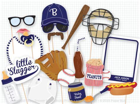 printable hockey photo booth props baseball baby shower photo booth props photobooth props