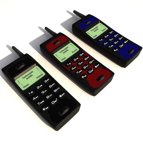 mobile phone models 3d model generic cellphone mobile phone