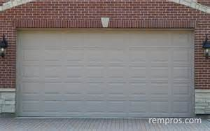 cost of 2 car garage door sectional 2 car garage door