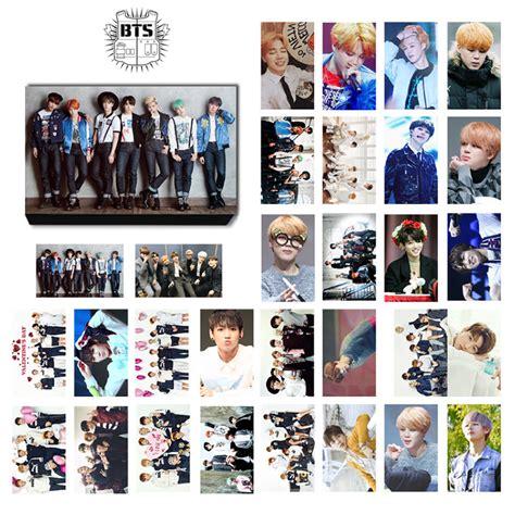 Photo Card Member Bts bts bangtan boys run series lomo photocard set kpop