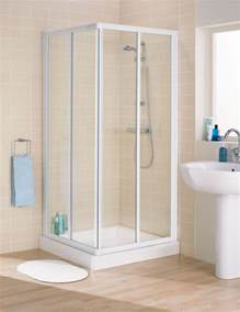 Shower Bath Enclosure Lakes Classic Framed Corner Entry Shower Enclosure 750mm White