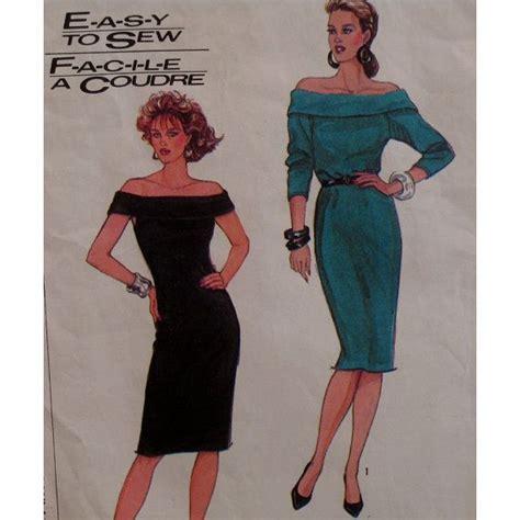dress pattern off the shoulder fitted stretch knit dress pattern off shoulder by
