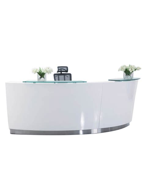Echo Curved Reception Counter Epic Office Furniture Curved Reception Desk Furniture
