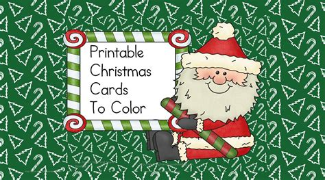 printable christmas cards in color printable christmas cards to color fun craft for kids