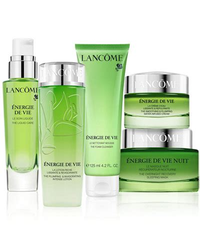 lancome energie de vie collection skin care beauty