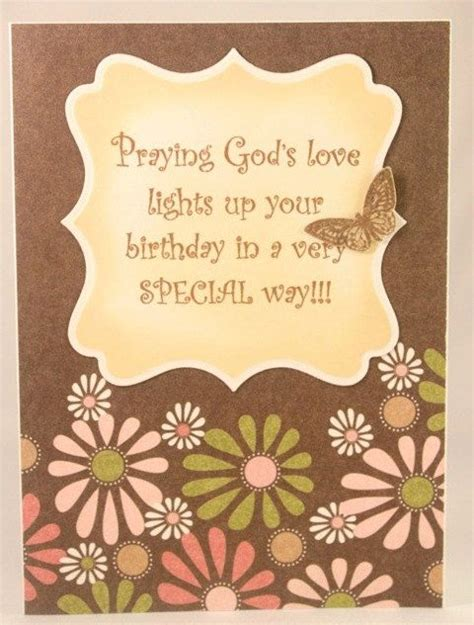 Religious Birthday Card Handmade Christian Birthday Card For Women Or Girls See