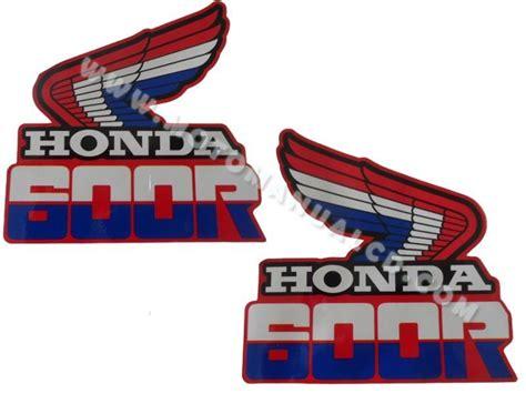 Honda Tank Sticker by Honda Xr 600 Xr600r 1985 1987 Tank Decals Stickers