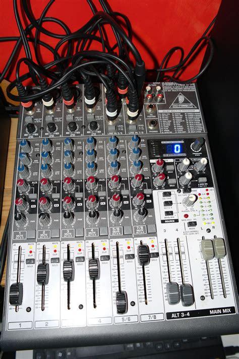 Mixer Behringer Xenyx 1204fx Behringer Xenyx 1204fx Image 290378 Audiofanzine