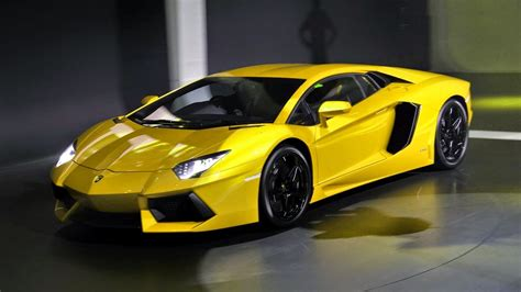 sports cars lamborghini lamborghini aventador a sophisticated sports car model in