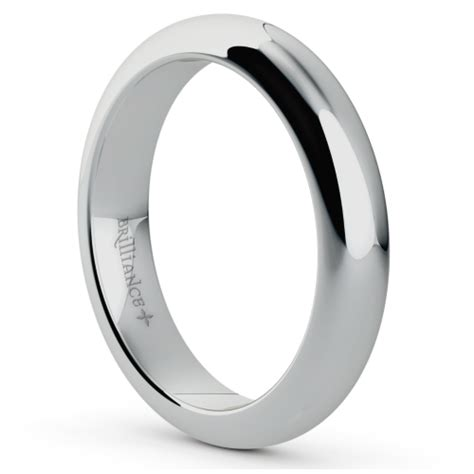 mens comfort fit wedding bands comfort fit men s wedding ring in platinum 4mm