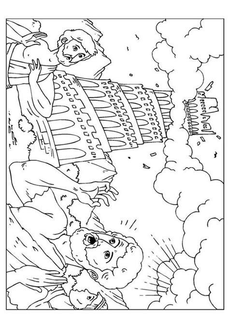 imagenes para colorear torre de babel dibujo para colorear torre de babel img 25960